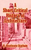 A Short Critical History Of Architecture