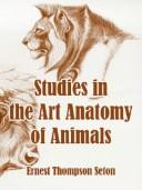 Download Studies In The Art Anatomy Of Animals