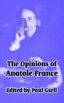 Download The Opinions Of Anatole France
