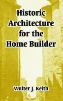 Download Historic Architecture For The  Home Builder