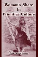 Download Woman's Share In Primitive Culture