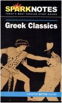 Image for Greek Classics (SparkNotes Literature Guide)