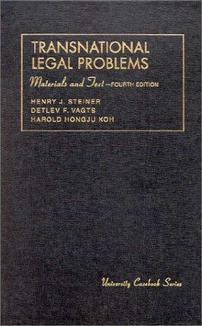 Transnational legal problems