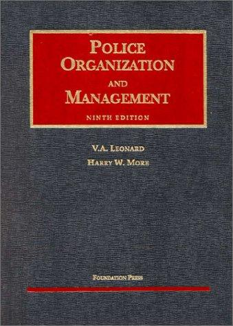 Download Police organization and management
