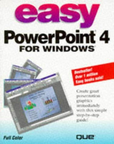 Easy PowerPoint 4 for Windows by Bryan Pfaffenberger
