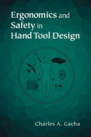 Ergonomics and safety in hand tool design by Charles A. Cacha
